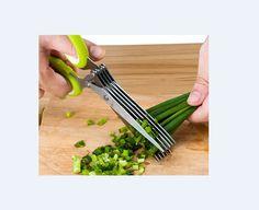 HERB CRAFT SHEARS Premium Stainless Steel 5 Blades Garden Kitchen Scissors NEW #XChef