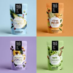 Different Type of Pouch Packaging Design for Inspiration Pouch Packaging, Fruit Packaging, Cool Packaging, Food Packaging Design, Coffee Packaging, Branding Design, Tee Design, Design Poster, Label Design