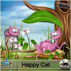 Happy Cat Kit by Avital