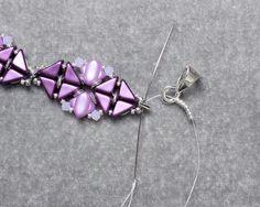 Skyline Collar Necklace Tutorial Beadweaving Pattern TwoHole