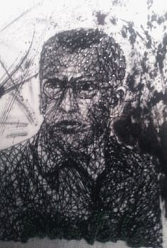 String Art Portrait Iwan Fals