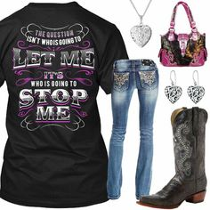 Cute boots My Sister By Heart Outfit - Real Country Ladies Buying Cheap Designer Clothes Online! Country Girl Outfits, Country Wear, Country Girl Style, Cute N Country, Country Fashion, Country Shirts, Country Life, Western Outfits For Ladies, Country Girl Clothes