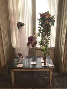 7217b1368 Colección Neoclasical  ramo de  novia y  tocados de flores naturales.  Atelier Couture