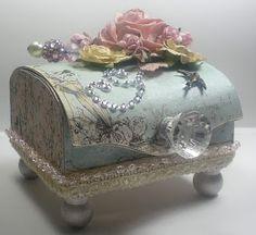 Altered Balsa Box For Swap At My Scrap Room