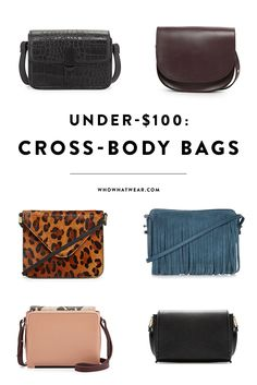 The best cross-body bags that look way more expensive than they are