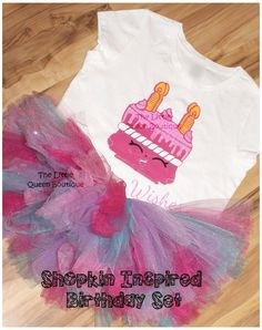 Shopkins Custom Shirt Shopkins Birthday by TheLittleQueen on Etsy