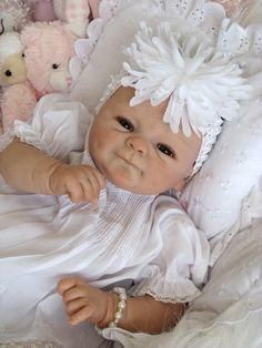 Reborn Doll Baby Girl Poppi Coco Malu by Elisa Max | eBay.       Jada has this doll and her dolls name is Angelina❤️❤️❤️