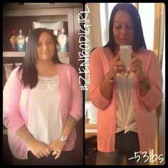 Using ZEN Bodi by Jeunesse Global she lost 53 pounds in 6 weeks!! Click the link to order your ZEN system!  www.youngjustice.jeunesseglobal.com