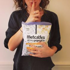 'Sharing' is more of a gesture than a recommendation... #allmine  Metcalfe's skinny Sweet 'n Salt popcorn