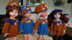 My Design, Crochet Hats, Dolls, Collection, Fashion, Knitting Hats, Baby Dolls, Moda, Fashion Styles
