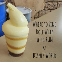 Disney World Food | Love the Dole Whip?  Have you tried it with rum?  Here's where to find that!