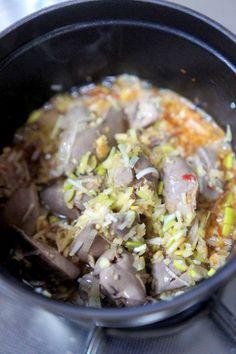 鶏レバーの中華香味野菜煮 by manngo | レシピサイト「Nadia ... 万能ねぎも加えて混ぜます