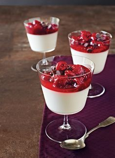 """Vegan Vanilla Pudding with Chocolate-Raspberry Topping won """"Best Dessert"""" in Vegetarian Times's 2014 Reader Recipe Contest! Enter our 2015 contest to win $500:  http://www.vegetariantimes.com/2015readerrecipecontest/"""