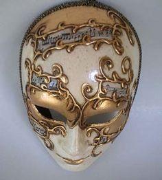 Music Sheet - Handmade Venetian Masks from Venice, Italy - 1001 Venetian Masks