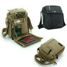 Saya menjual Tas Bahu Selempang Kanvas pria / Sling bag / Organizer Travel Bag dengan potongan 5%! Hanya Rp94.050. Dapatkan segera di Shopee! https://shopee.co.id/fashionbgr/766896701 #ShopeeID