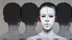 Ethiopian photographer Aida Muluneh Day For Night, Surrealism, Lp, Body Art, Photographers, Halloween Face Makeup, African, Artists, Photos