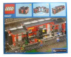 LEGO: City Train Shed [Toy] (japan import): Amazon.fr: Jeux et Jouets