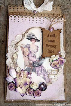 From Wenche Jensen in Aust-Torpa, Norway Papirdesign wenches skribleri