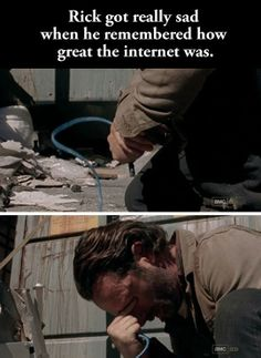 Finding Out There's No Internet