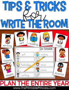 Write the Room is such a fun activity in the Kindergarten and First Grade classroom. It's easy to put together and switching the themes keeps it fresh and engaging for students. Check out this post where you'll find Write the Room tips and tricks for implementing this center as well as things to consider and ideas for early finishers. You can also check out how to plan your Write the Room center for the entire year!