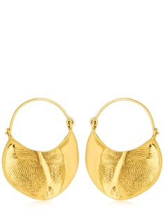 CORNELIA WEBB MOLDED DOOR KNOCKER EARRINGS. #corneliawebb #