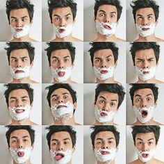 Playful Vini Uehara 😜 #shave