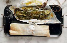 Λαβράκι στα αμπελόφυλλα Spanakopita, Pork, Meat, Ethnic Recipes, Kale Stir Fry, Pork Chops