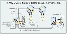 Wiring A 3 Way Switch?   Middle, Electrical wiring and Lights