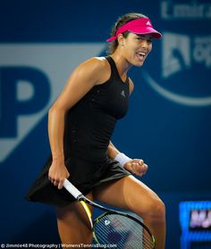Ana Ivanovic - WTA ANGELS: Brisbane 2015 Ana Ivanovic, Sexy Leggings Outfit, Tennis Players Female, Sport Tennis, Sports Training, Gym Wear, Sport Girl, Sports Women, Gym Workouts