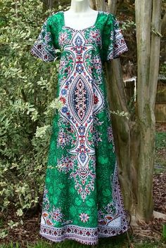 Vintage Hippie Dashiki Dress - Canopy