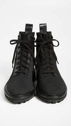 fe6cfd492b4 Loeffler Randall Brady Stretch Knit Combat Boots #Brady#Randall#Loeffler