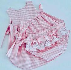Cute Little Girl Dresses, Dresses Kids Girl, Cute Girl Outfits, Kids Outfits Girls, Toddler Girl Outfits, Smocked Baby Clothes, Baby Dress Clothes, Baby Clothes Brands, Trendy Baby Clothes