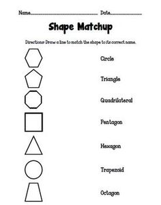 1000+ images about Math - Shapes on Pinterest | Shape, Shape games and ...