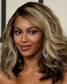 Beyonce blond highlights + great article on achieving big, sexy hair like bey's