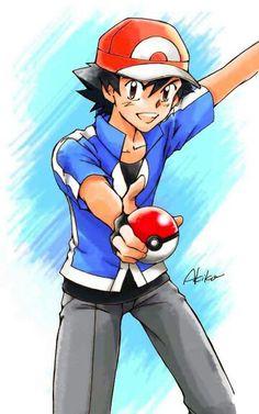 Sawyer Pokemon, Pokemon Ash Ketchum, Gotta Catch Them All, Pokemon Pictures, Pokemon Fan, Cool Pictures, Families, Pikachu, Champion