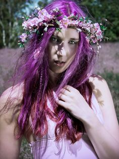 purple #hair wish I could pull this off!!