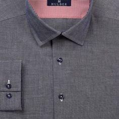 O camasa casual soft gri - bleumarin, speciala datorita contrastelor puternice obtinute din design si versatila datorita ocaziilor diverse in care poate fi imbracata. Men Shirts, Shirt Dress, Casual, Mens Tops, Dresses, Design, Fashion, Gowns, Moda