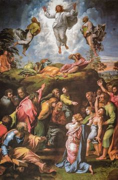 Definitive Guide To Raphael's Most Famous Paintings (and Where To Find Them!) The Transfiguration, Most Famous Paintings, High Renaissance, Holy Family, Religious Art, Find Art, Giclee Print, Stock Photos, Art Prints