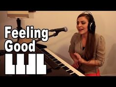 ▶ Feeling Good - Nina Simone, Michael Buble - Cover by Missy Lynn - YouTube