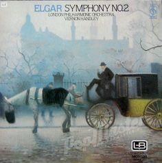 Elgar Symphony No.2 London Philharmonic Orchestra Vernon Handley  CFP 40350
