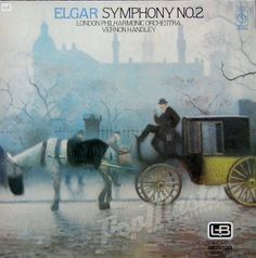 Elgar Symphony No.2 London Philharmonic Orchestra Vernon Handley  CFP 40350