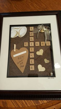 VISIT FOR MORE anniversary gift for Uncle Danny and Aunt Joanie! Gonna have to buy another scrabble game! Lol It turned out awesome! The post anniversary gift for Uncle Danny and Aunt Joanie! Gonna have to buy another appeared first on Diy. Anniversary Games, 50th Anniversary Decorations, Homemade Anniversary Gifts, 50 Wedding Anniversary Gifts, Anniversary Gifts For Parents, Golden Anniversary, Scrabble, Decopage, Lol