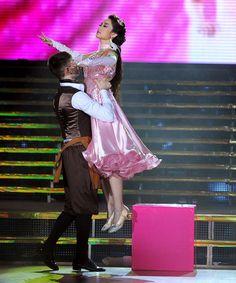 Minh Hằng và bạn nhảy Atanas Georgiev Malamov
