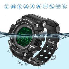 Smart Electronics Earnest High Quality Smart Watch Heart Rate Monitor Blood Pressure Weather Forecast 30m Deep Waterproof Ip68 Sports Smartwatch Men Women
