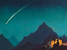 Nicholas Roerich. Star of the hero.