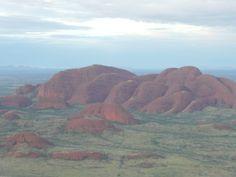 2000/2001 - The Olgas - KataTjuta is the Aboriginal name meaning 'many heads.'  Australia Outback