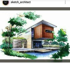 Ambientación Architecture Concept Drawings, Architecture Sketchbook, Architecture Portfolio, Architecture Plan, Amazing Architecture, Landscape Architecture, Landscape Design, Interior Design Sketches, Design Apartment