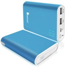 GreatShield PowerTank 10400mah Compact High Capacity Power Bank Portable External Battery Charger Pack for Cell Phones Tablets & Other Porta...