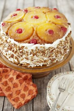 Check out what I found on the Paula Deen Network! Pineapple Upside-Down Cake http://www.pauladeen.com/recipes/recipe_view/pineapple_upside_down_cake