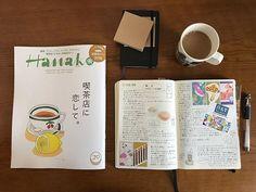elmo_coffee昨日買った#夜長堂 のロールふせんがかわいすぎる(//∇//) #hanako は、買わずにおれんかったやつです。 行ったことあるお店も、これから行きたいお店もたくさん載ってて、目の保養…✨ そのうち店主さんが引退されちゃうお店もあるだろうなぁと思うと、早くたくさん行きたい…(´・_・`) 昨日もすごいステキな純喫茶行けました。ふへへ。 #モレスキン #ふせん #ロイヒトトゥルム #ロイヒトトゥルム1917 #ロイヒトトゥルム同好会 #うちカフェノート部 #コーヒー2018/02/12 12:23:26